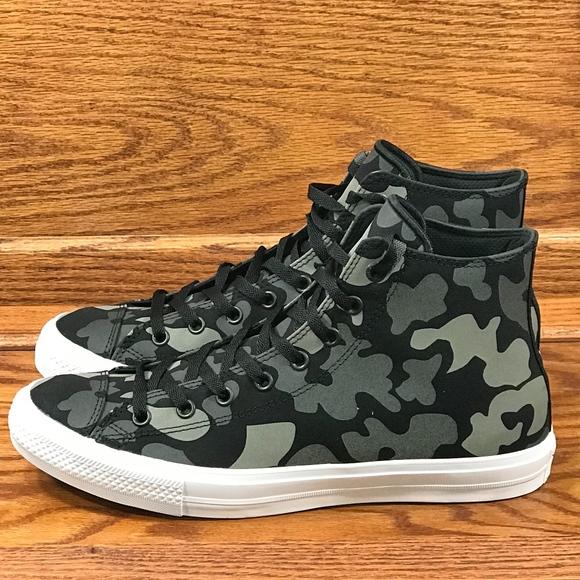 a0fe1c6097aaa9 Converse Ctas ll Hi Charcoal Black Shoes